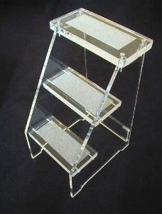 """The """"Social Climber"""" Lucite Step Stool by Dragonette Ltd. review at Kaboodle"""