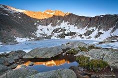 crystal lake, RMNP.