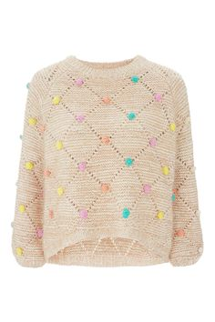 **Multi Bobble Jumper by Nobody's Child - Knitwear - Clothing - Topshop