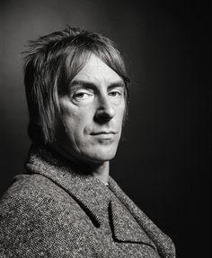 A laid back Paul Weller.