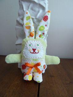 Doudou funny handmade original birth gift by Latribudubonheur
