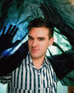 Morrissey -- photo by Ian McKell. The Smiths Morrissey, Johnny Marr, Charming Man, 90s Nostalgia, New Wave, Will Smith, I Love Him, Going Out, Singer