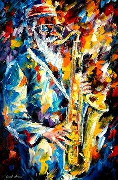 """The Sax"" FREE GICLEE by *Leonidafremov"