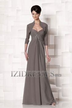 5397e8d4e7d Sheath Column Strapless Sweetheart Chiffon Mother of the Bride -  IZIDRESSES.COM at IZIDRESSES
