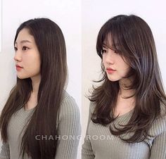 hair korean hair make up [/] : Layered Haircuts For Medium Hair, Long Layered Hair, Medium Hair Cuts, Long Hair Cuts, Medium Hair Styles, Short Hair Styles, Korean Haircut Long, Korean Long Hair, Korean Medium Hair