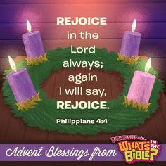 Philippians 4:4 - Advent Verse of the Day 12/15/13 - Whats in the Bible