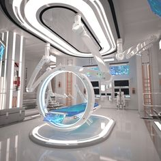 3D MODEL: https://www.turbosquid.com/3d-models/3d-futuristic-laboratory-interior-scene-model/1043232?referral=cermaka