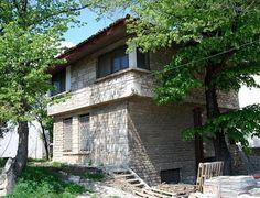 """Vila generalului Gheorghe Rasoviceanu (numită """"Vânturile, valurile"""") arh. Henrieta Delavrancea Gibory Case, Pergola, Outdoor Structures, Outdoor Pergola"""