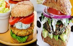 A Quick Convenient Black Beans Burger For Healthy Lunch