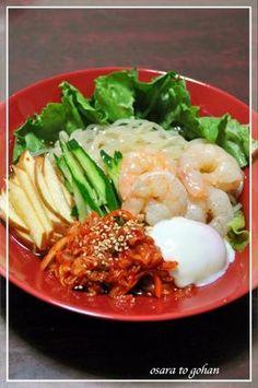 盛岡冷麺☆リンゴとキムチははずせない♪ レシピ・作り方 by お皿とごはん|楽天レシピ