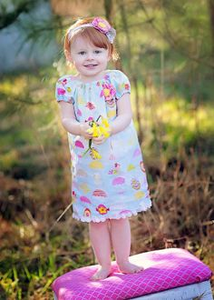 Custom Boutique Easter Friends Peasant Dress by christinamcdaniel, $30.00 (pattern from www.whimsycouture.etsy.com/)