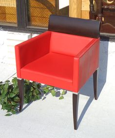 Ultra-Premium Italian-Made Philipp Selva Home <i>Solitaire Collection </i> Armchair / 1024.  The Selva Group is a company that blends the art of furniture design with an innovative approach, perfectly balanced with the prestigious, classic style Italian-crafted creations are renowned for.  It doesn't get any better than this for an amazing focal point chair.  24 x 26 x 32.  <i>Exclusive Philipp Selva chairs like this typically sell for over $1,400 new.  </i> <b></b>