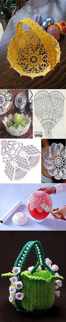 How to crochet a DOILY for advanced beginners - Crochet İcord Crochet Bowl, Crochet Art, Thread Crochet, Crochet Doilies, Crochet Flowers, Crochet Diagram, Filet Crochet, Irish Crochet, Easter Crochet Patterns