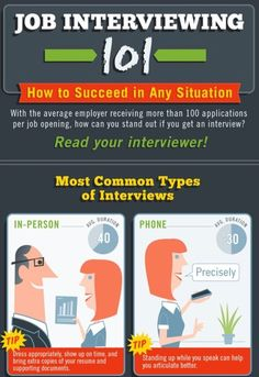 Job Interview tips via www.Facebook.com/CareerBliss