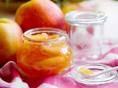Easy apple  preserves with cloves and cinnamon. Delicious!