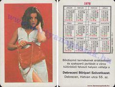 1978 - 1978_0635 - Régi magyar kártyanaptárak