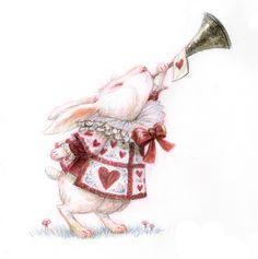 Alice in Wonderland Concept Art by Tim Burton