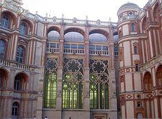 Eglise dans le château de Saint-Germain,,   Île-de-France > Yvelines > Saint-Germain-en-Laye > Château de Saint-Germain-en-Laye