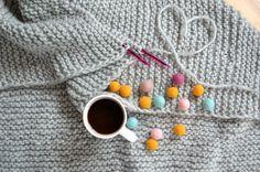see more cozy blankets on my DaWanda shop http://pl.dawanda.com/shop/manufakturababciwladzi #blanket #wool #knitting