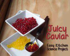 Cuadro de Juicy Snack-Esferas - Ciencia Fácil Cocina