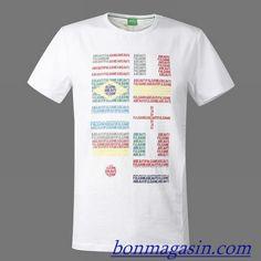 Vendre Pas Cher Homme Hugo Boss Tee Shirts H0004 En ligne En France.