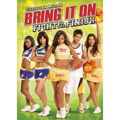Bring It On: Fight to the Finish: Christina Milian does flips in the air as a sassy cheerleader