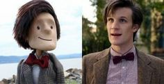 A Puppet Of Doctor Who's Matt Smith Is A Tumblr Sensation!