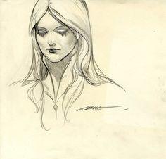 Alex Alice, portrait de la Walkyrie Comic Art