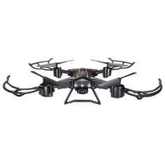 Enjoy a smooth, one-key press to get your drone to 'return home', after experimenting with its 360-degree movement capacity.