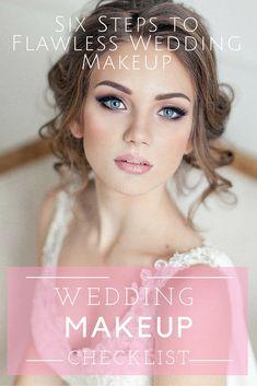 wedding makeup checklist
