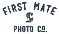 Check out the logo of our wedding photographers... Is this meant to be or WHAT?! A very nautical nuptial.
