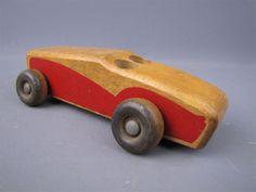 Vintage-Holgate-Wooden-2-Seat-Race-Car-7-1-4-L