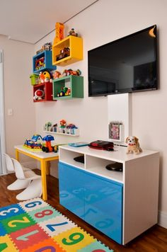 Room Small - Bright Idea - Home, Room, Furniture and Garden Design Ideas Kids Bedroom Designs, Kids Room Design, Baby Room Decor, Bedroom Decor, Lego Bedroom, Playroom Decor, Closet Layout, Toddler Rooms, Man Room