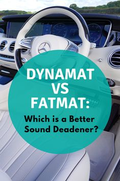 Dynamat vs FatMat: Which is a Better Sound Deadener? Let's get a wider picture about Dynamat and FatMat before we make a conclusion about this titan fight. How To Introduce Yourself, Improve Yourself, Noise Pollution, Car Sounds, Noise Reduction, Sound Proofing, Land Rover Defender, Listening To Music, Better Life