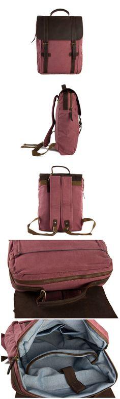 Canvas Backpack Laptop Bag School Bag Travel Bag Backpack