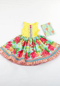 LET IT SHINE BALLET TANK DRESS bottom ruffle