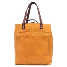 Yellow isn't necessarily a flattering color on everyone, but a yellow bag = perfection! I love this one from Questhaven Fashions. $54