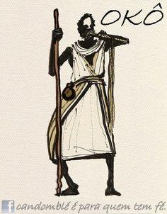 Orixá Oko, orixá da agricultura.