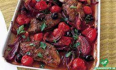 rumpsteak mit geschmorten balsamico-tomaten rezept, low carb Diät rezept