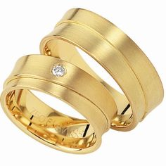 Gold & diamond wedding band - Wave contemporary Jewellery