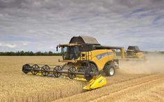 combine harvesters | Combine harvester images - Telegraph