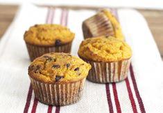 Pumpkin Muffins with Chocolate Chips via DeliciouslyOrganic.net #paleo #grainfree