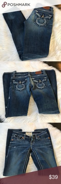 BIG STAR JEANS Great condition BIG STAR JEANS Size 26L inseam 33 Big Star Jeans Straight Leg