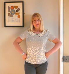 Handmade Jane: Peaceful cooing Alma blouse