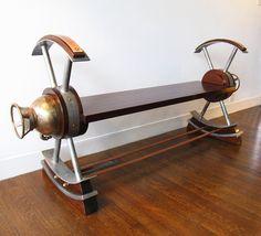 Fire Extinguisher Bench by mattjohnsondesigns on Etsy, $3400.00
