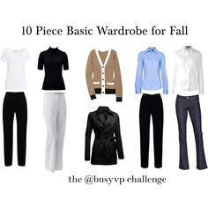 10 Piece Wardrobe Challenge by annabouttown on Polyvore featuring See by Chloé, MANGO, Gordon Smith, Michael Stars, Apt. 9 and Levi's