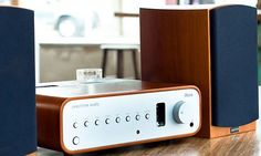 iNova Amplifier w/ D4 Speakers by Peachtree Audio