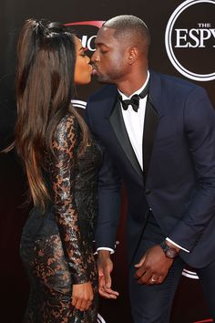 Gabrielle Union and Dwyane Wade Are Sexy at the ESPYs — and They Know It