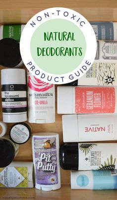 Natural Skin Remedies Guide to Non-Toxic Natural Deodorants: Learn about the natural brands and find the type of natural deodorant that will work best for you. Skin Care Regimen, Skin Care Tips, Natural Skin Care, Natural Beauty, Organic Skin Care, Natural Makeup, Natural Deodorant That Works, Deodorant For Women, Diy Deodorant