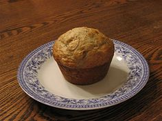 Banana Muffins #recipes  :: applesauce instead of butter and flour 1/2c white + 1c whole wheat; also add 3 tbsp cocoa, 2 - 3 tbsp ground flax seed, 1/3c plain Greek yogurt, and 2/3c chocolate chips.